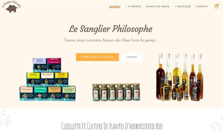 Accueil Le Sanglier Philosophe