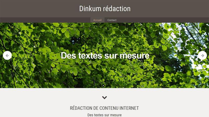 Des textes sur mesure Dinkum rédaction