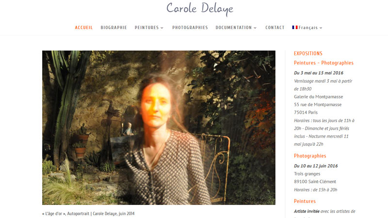 Carole Delaye artiste Paris