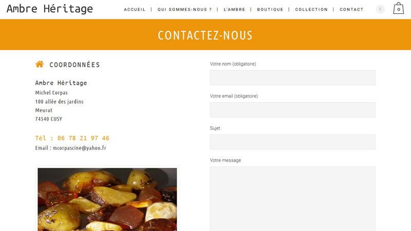 Contact Ambre Héritage