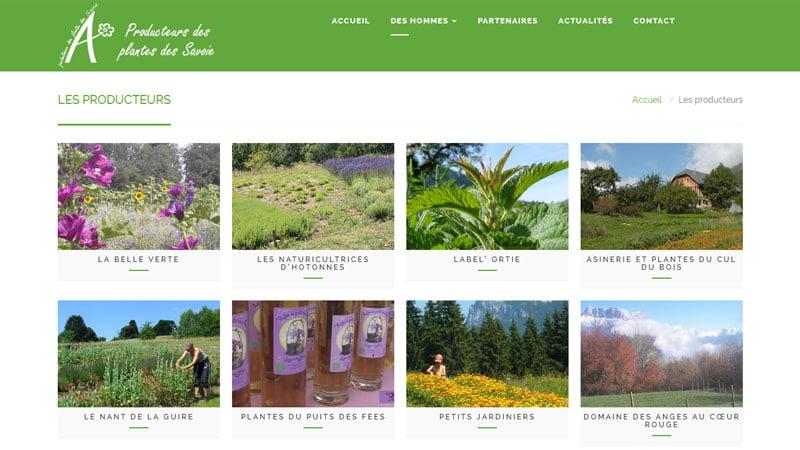 Producteurs des plantes aromatiques et médicinales des Savoie