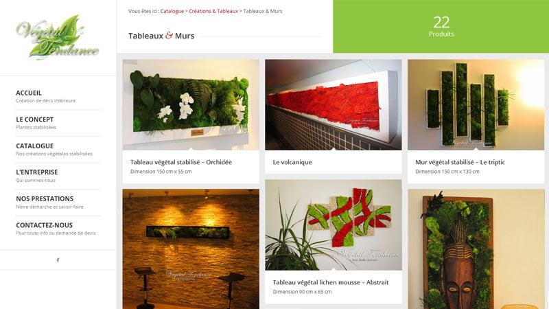 Tableaux et Murs Végétal Tendance