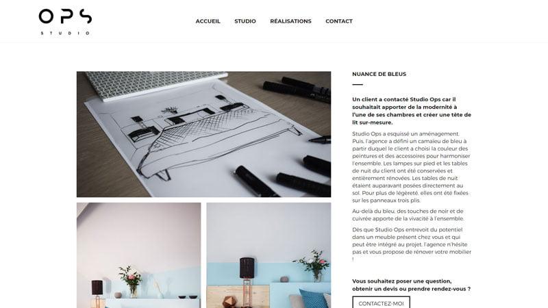 nuances de bleus studio ops