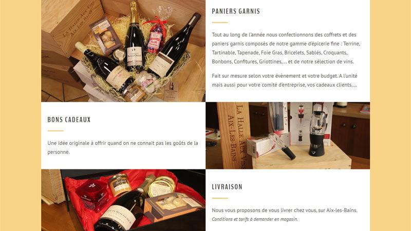 services la halle aux vins