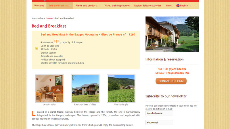 Bed and Breakfast L