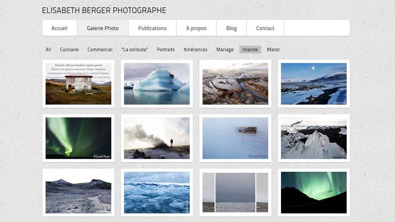 Portfolio Islande Elisabeth Berger photographe