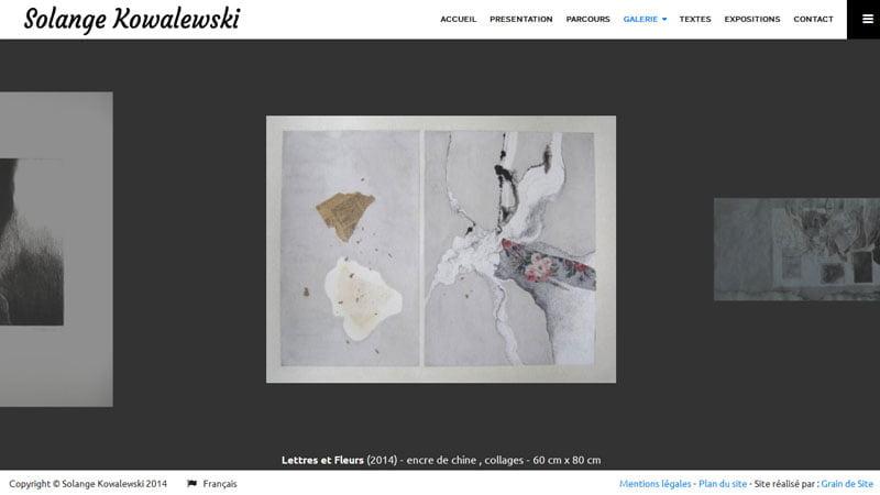 Oeuvres de Solange Kowalewski