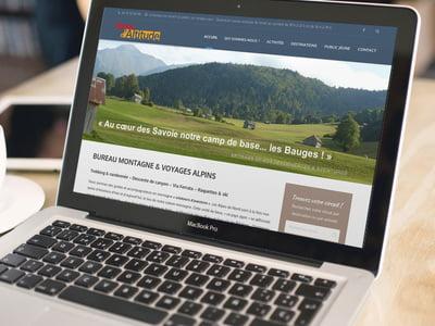 Site internet Terres d'Altitude